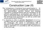 construction law ii