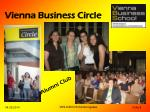 vienna business circle