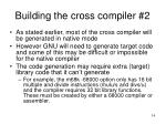 building the cross compiler 2