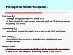 propagation mechanisms cont1