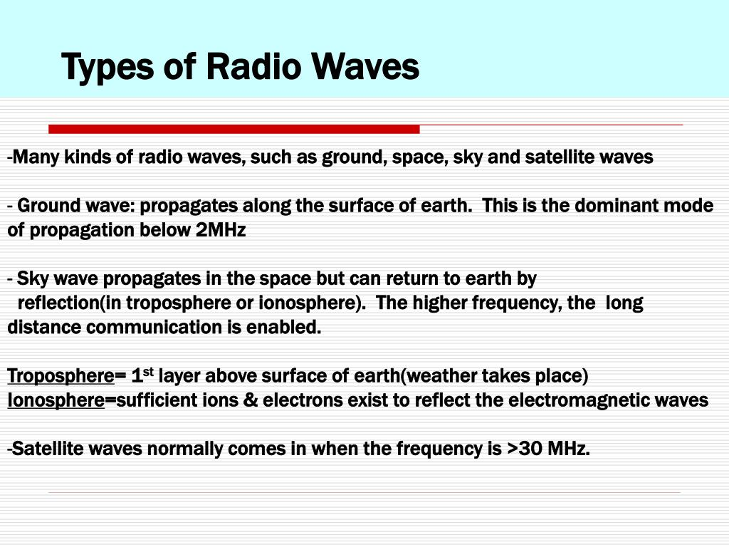 PPT - Wireless & Mobile Networking: Mobile Radio Propagation