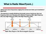 what is radio wave cont1