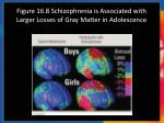 figure 16 8 schizophrenia is associated with larger losses of gray matter in adolescence