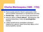charles montesquieu 1689 1755