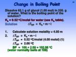 change in boiling point1