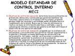 modelo estandar de control interno meci1