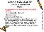 modelo estandar de control interno meci10