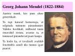 georg johann mendel 1822 1884