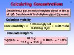 calculating concentrations1