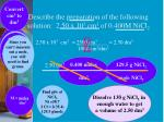 describe the preparation of the following solution 2 50 x 10 3 cm 3 of 0 400m nicl 2