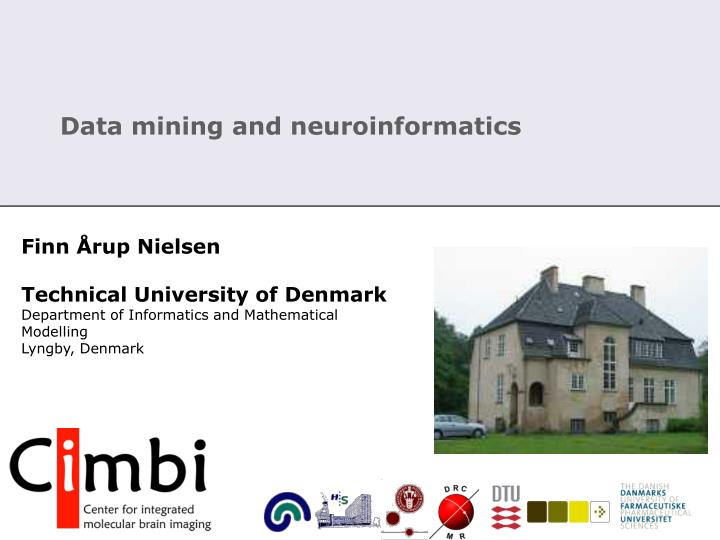 data mining and neuroinformatics n.
