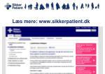 l s mere www sikkerpatient dk