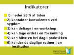 indikatorer