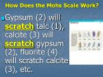 how does the mohs scale work