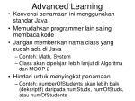 advanced learning1