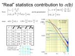 real statistics contribution to b