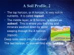 a soil profile 2