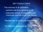 air conservation1