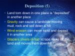 deposition 5