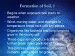 formation of soil 1