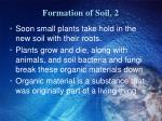 formation of soil 2