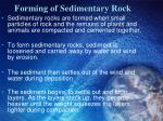 forming of sedimentary rock3