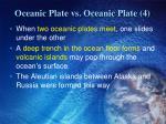 oceanic plate vs oceanic plate 4
