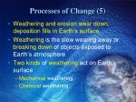 processes of change 5