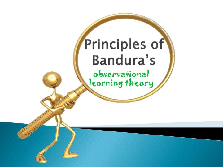 principles of bandura s n.