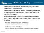 advanced learning2