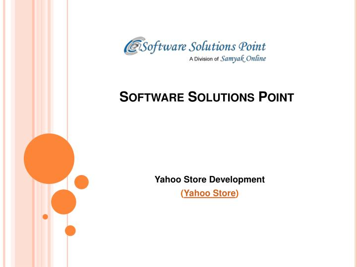 software solutions point n.