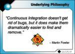 underlying philosophy