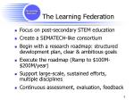 the learning federation1