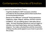 contemporary theories of emotion1