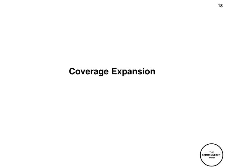 Coverage Expansion