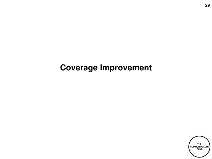 Coverage Improvement