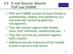 9 5 e mail security beyond pgp and s mime