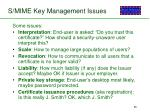 s mime key management issues
