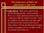 the forgiveness of god is an opportunity to start over12