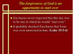 the forgiveness of god is an opportunity to start over14