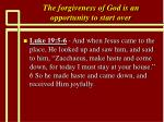 the forgiveness of god is an opportunity to start over15
