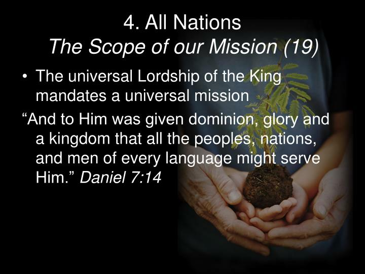 4. All Nations