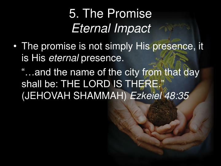 5. The Promise
