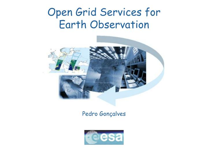 open grid services for earth observation n.