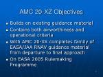 amc 20 xz objectives