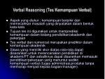 verbal reasoning tes kemampuan verbal