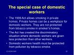the special case of domestic workers