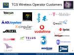 tcs wireless operator customers