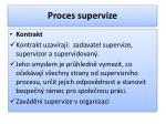proces supervize