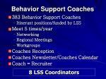 behavior support coaches